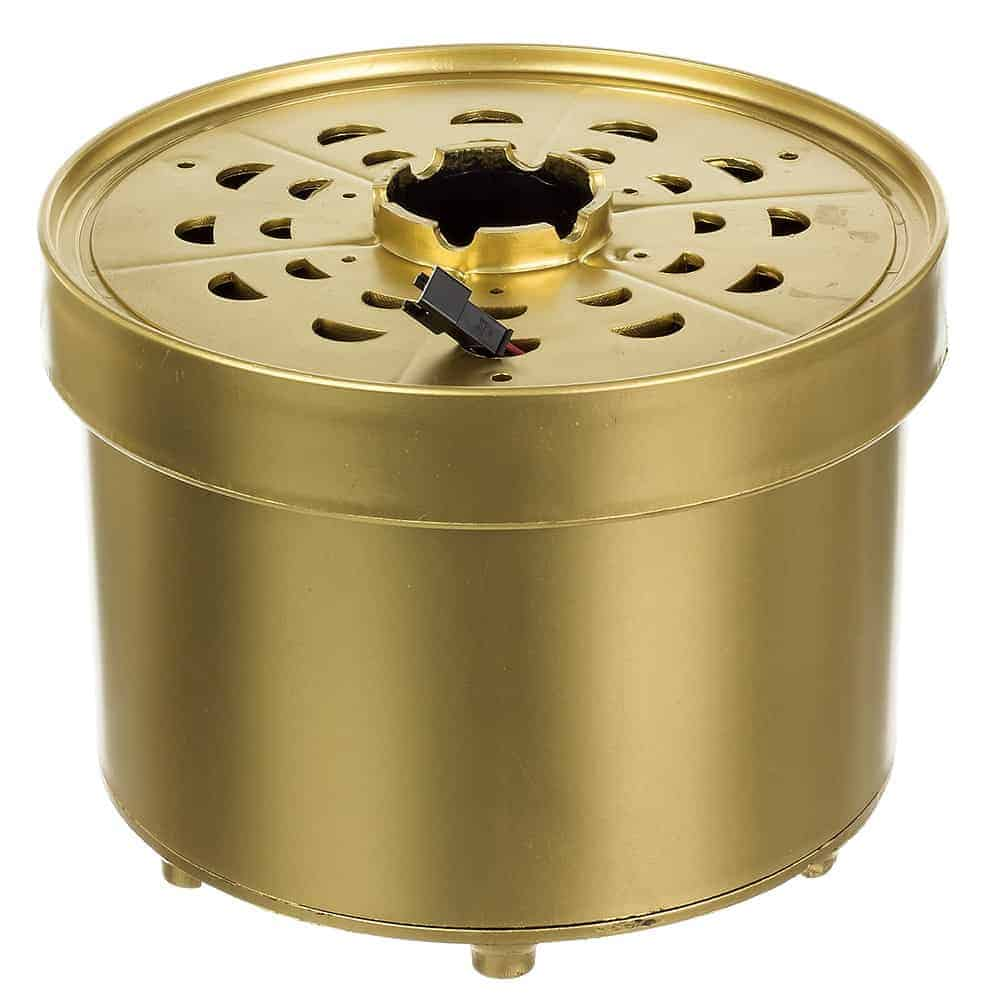 36 inch or 48 inch Fiber Optic Base w/ Connector: Gold